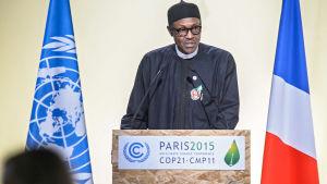 Muhammadu Buhari, president i Nigeria