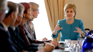 Skottlands regeringschef Nicola Sturgeon