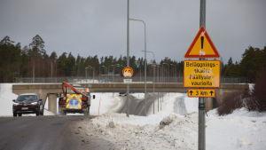 Västra omfartsvägen i Karis