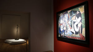 Pablo Picassos och alberto Giacomettis rekorddyra verk.