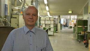 Jouni Haapaniemi fabrikschef Abloy Björkboda