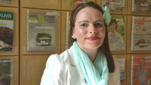 Förvaltningsdirektör Hanna-Maria Grandell i Lojo.