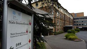 St Raphael Hospital i Osnabrück där den 65-åriga mannen avled i sviterna av mers.