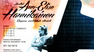 Ann-Elise Hannikaisesta tehdyt oopperan juliste