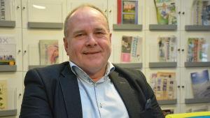Boris Ståhl, rektor på Yrkesakademin i Österbotten.