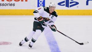Mikko Koivu ledde sitt Minnesota till en seger i Dallas.