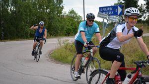 Cyklister i Tour de Östnyland