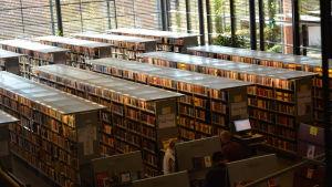 Borgå stadsbibliotek.