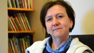 Minna Rolander, barnträdgårdslärare på Malmögårdens daghem.