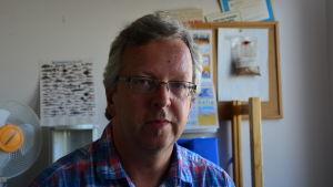 Guy Svanbäck, verksamhetsledare för Österbottens fiskarförbund.
