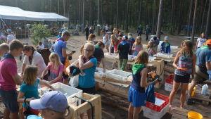 Scoutläger i Syndalen 2014