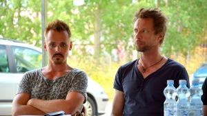 Jasper Pääkkönen och Antti Reini i Åbo sommaren 2014 (Vares-inspelning)