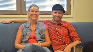 Birgitta Udd och Petri Horttana.