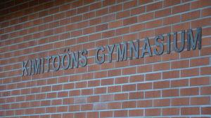 Kimitoöns gymnasium, 4.12.2014