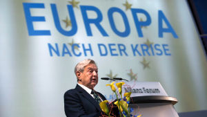 George Soros i Berlin i oktober 2012.