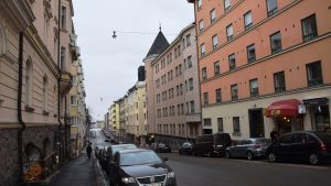 Mariegatan i Kronohagen
