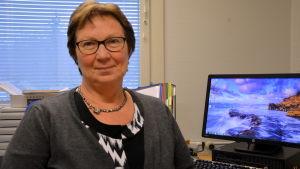 Birgitta Blomqvist, barnomsorgsledare i Korsnäs.