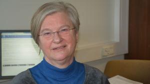 Asta Holmström, rektor för Karjaan lukio
