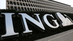 Den nederländska ING-bankens logo