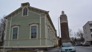Ebeneserförsamingens nuvarande kyrka i Jakobstad