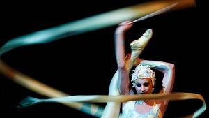 Cirque du Soleil-showen Alegria i Warszawa i juli 2013.