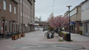 Berggatan i Hangö.