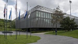 Fifas huvudkontor i Zürich, Schweiz.