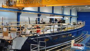 Nautors nya 115 fots segelbåt
