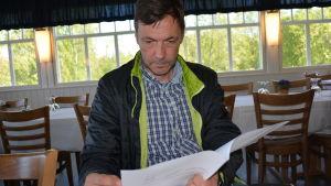 Revisionsnämndens ordförande Kaj Nyman