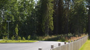 Kårkullas nya enhet i Pedersöre byggs i närheten av daghemmet Hoppetossan