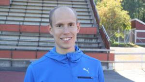 Anders Lindahl, friidrottare från Kristinestad.