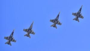 Bild från Natoövning i Spanien i oktober 2105