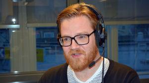 Kaj Ahlsved är forskare på Åbo Akademi. 2015.