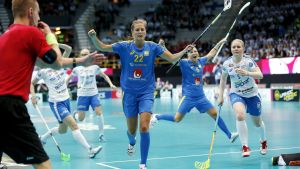 Innebandy-VM i Tammerfors 2015.