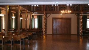 Kapellstrands festsal i Pargas