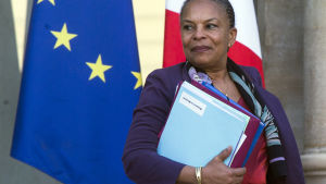 Christiane Taubira, tidigare fransk justitieminister.