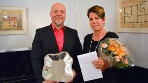Ådalens Idrottsförenings ordförande Michaela Lindqvist.