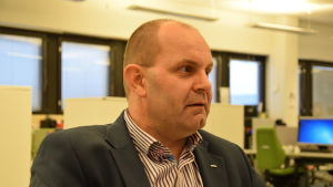 Christer Holmlund, ordförande för Finlands Svenska Lärarförbund