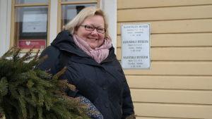 Anne Sjöström, chef för Nådendals museum