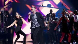 Justin Timberlake uppträder i Eurovisionen 2016