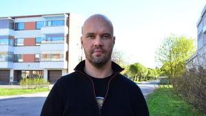 Kim Berg, huvudförtroendeman på Vasa centralsjukhus
