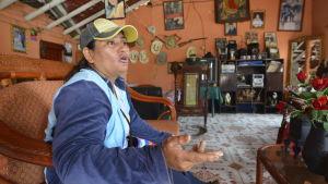 Fatima Duarte är emot kanalbygget.
