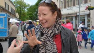 Pia Prost på Pargasdagarna 2016