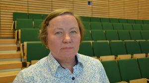 Anki Kivelä deltar i skärgårdsseminariet i Åbo