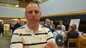Tore Johansson på skärgårdsseminariet i Åbo