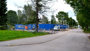 Näse skolas baracker
