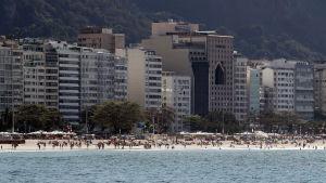 Copacabana i Rio de Janeiro.