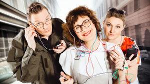 Iiris ja viettelykset -kuunnelmasarjan näyttelijät