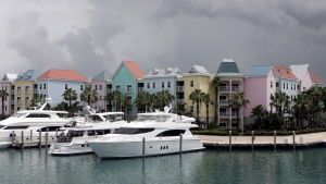 Luksusjahteja Bahaman pääkaupungissa Nassaussa.