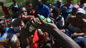 Över 350 000 människor behöver akut hjälp i Haiti efter orkanen Matthew